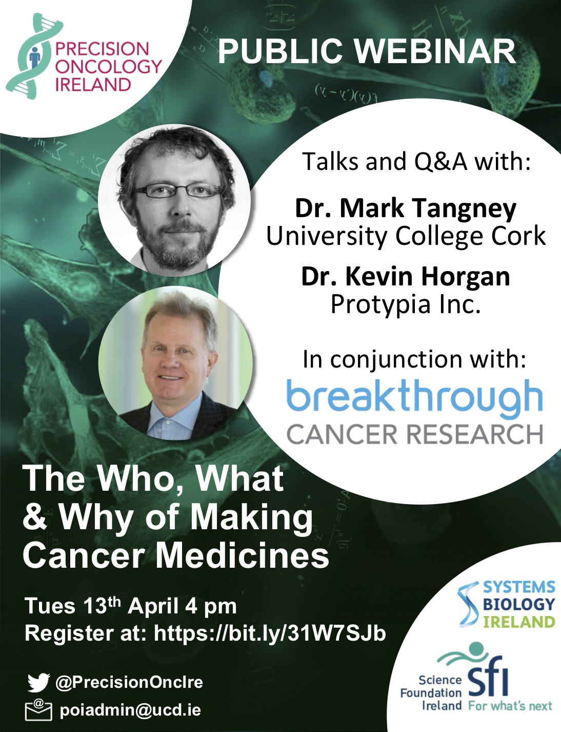 The Who, What, and Why of Making Cancer Medicines